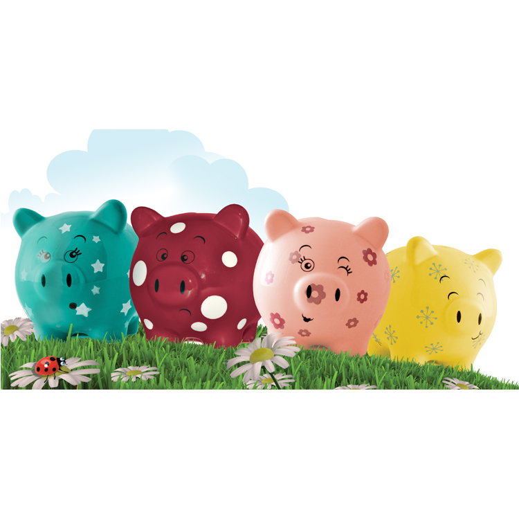 Penny Pig Money Bank House Of Marbles