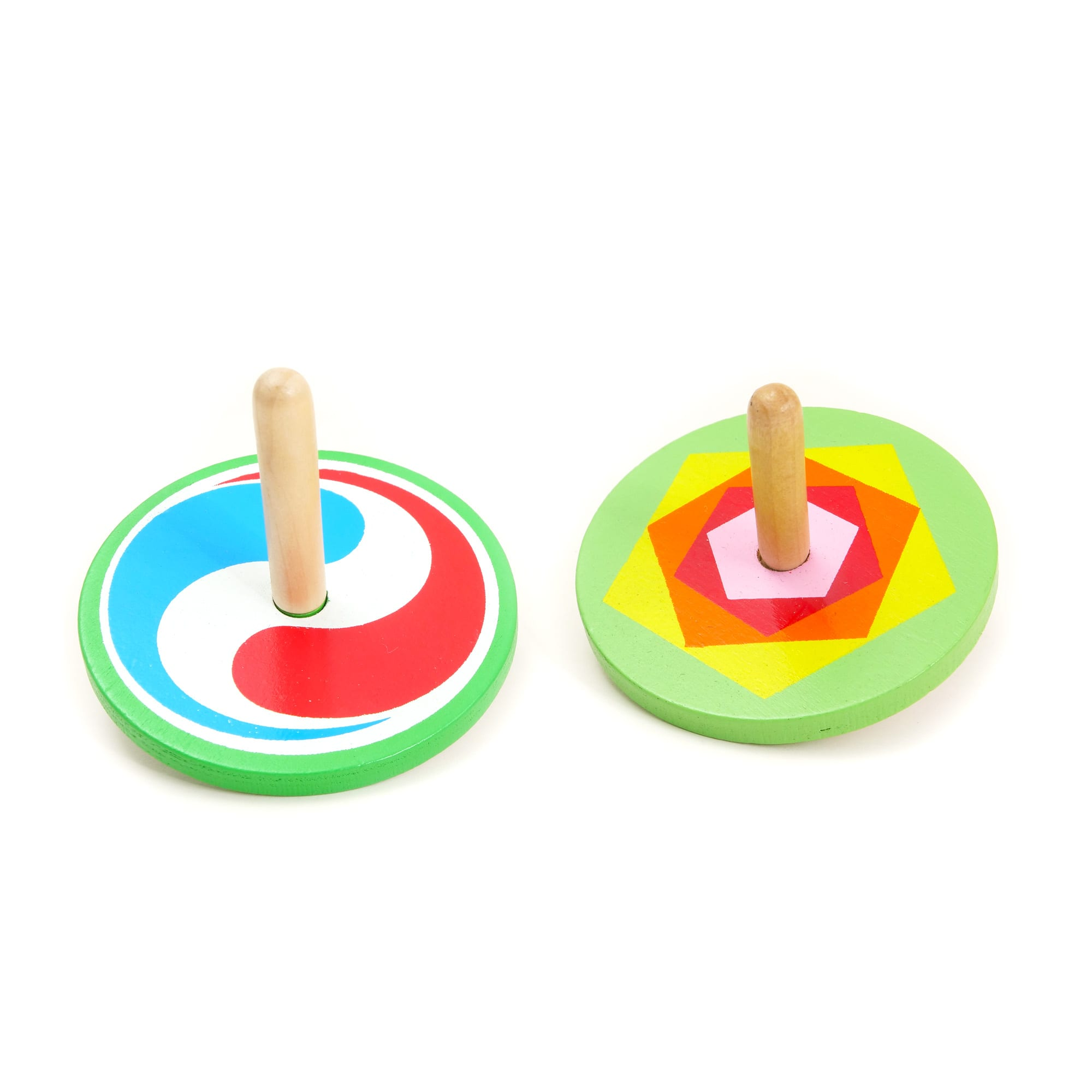 Mini Wooden Spinning Top | House of Marbles