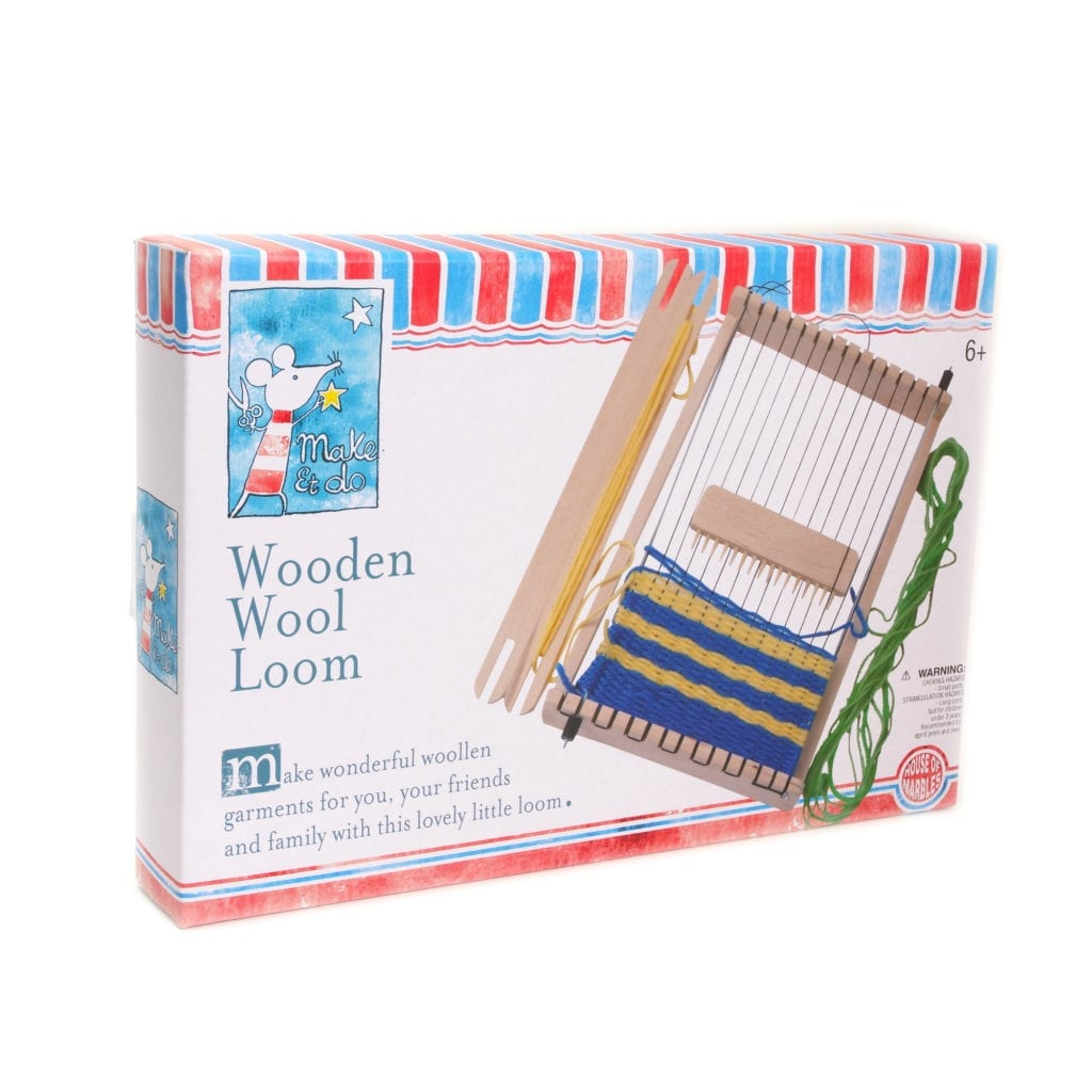 Wooden Wool Weaving Loom Instructions House Of Marbles
