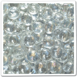 ALL GLASS PEBBLES