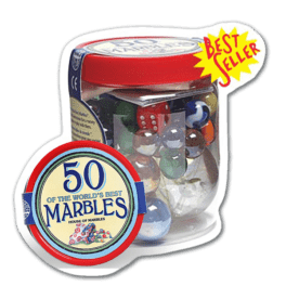 Tubs of Marbles