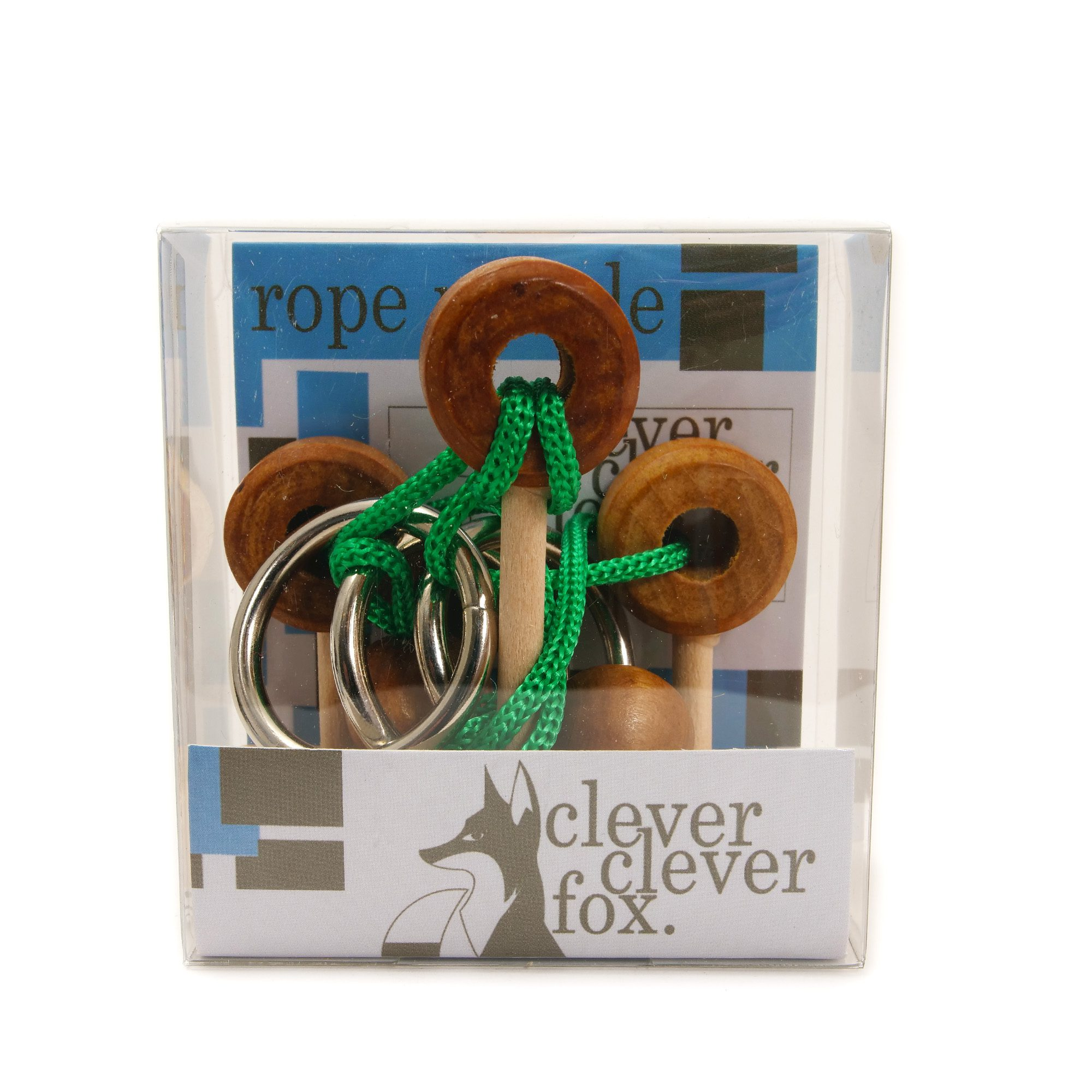 Clever Fox: Clever Fox Rope Puzzle - Green