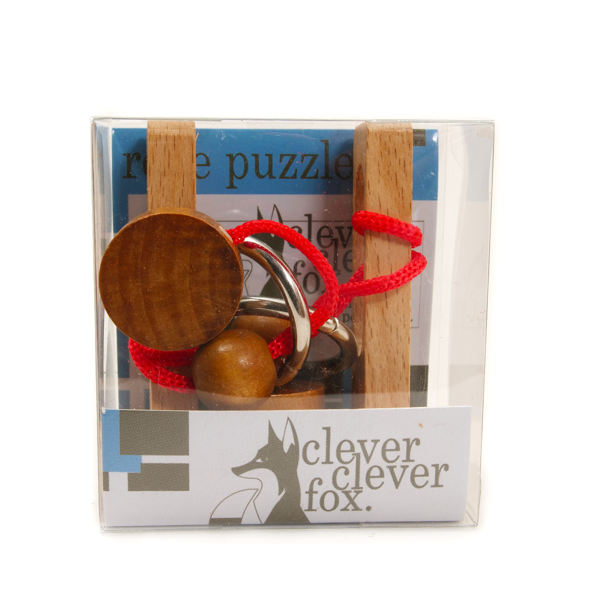 Clever Fox: Clever Fox Rope Puzzle Solution - Red
