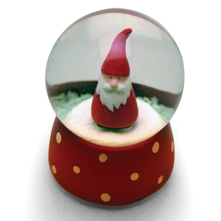 Christmas Snowglobes.Mini Christmas Snow Globe